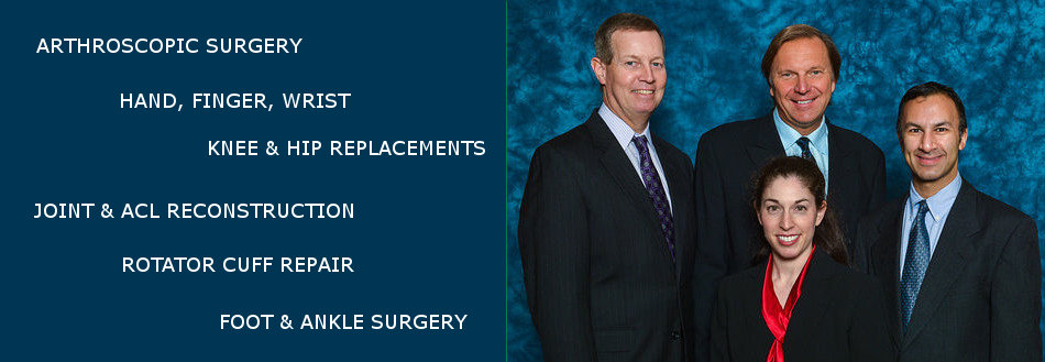Specialists in all Orthopaedic Conditions